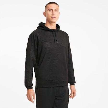 Activate Men's Training Hoodie, Puma Black, small
