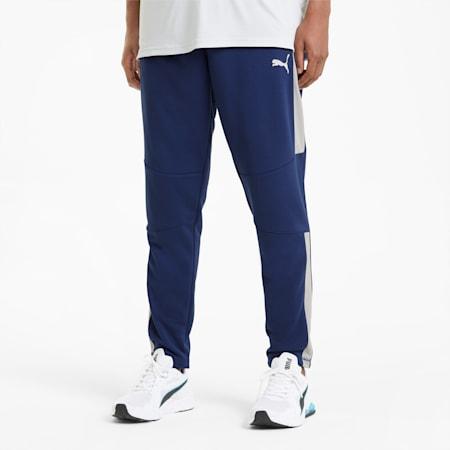 Męskie spodnie treningowe Activate, Elektro Blue-Gray Violet, small