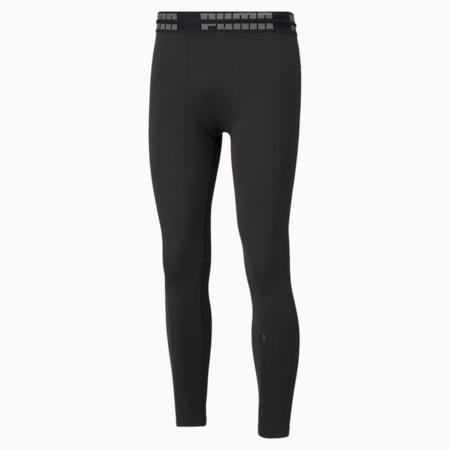 Pantaloni aderenti da allenamento lunghi Seamless Bodywear uomo, Puma Black, small