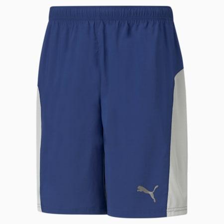 """Favourite Session 9"""" Men's Training Shorts, Elektro Blue, small"""