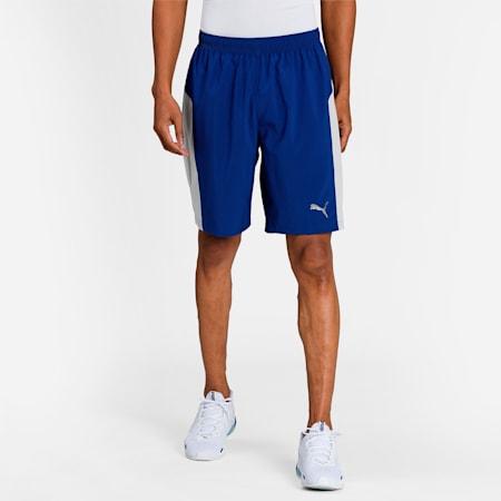 "Favourite Session 9"" Men's Training Shorts, Elektro Blue, small-IND"