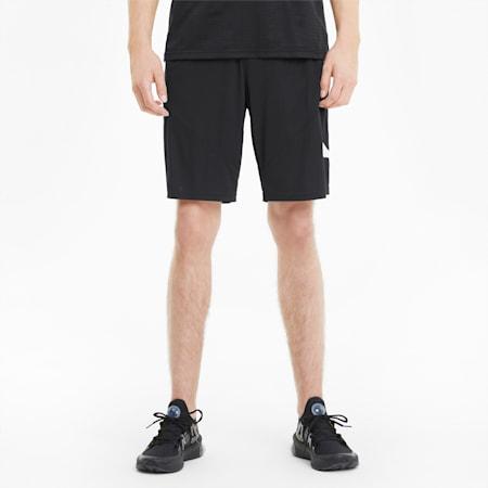 "Favourite Cat 9"" Men's Training Shorts, Puma Black-Puma White, small-GBR"