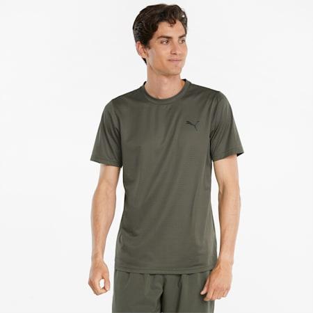 T-shirt da allenamento Favourite Blaster uomo, Grape Leaf, small