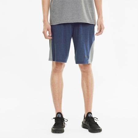 Short de sport driRelease 20cm homme, Elektro Blue, small