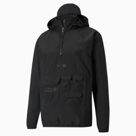 PUMA x FIRST MILE Utility Men's Training Jacket, Puma Black, small-GBR