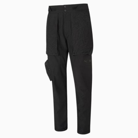 PUMA x FIRST MILE Woven Men's Training Pants, Puma Black, small-SEA