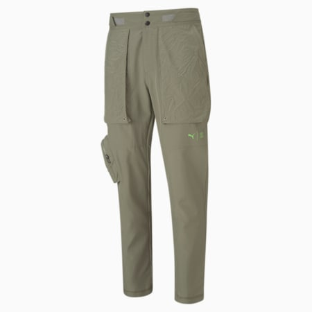 PUMA x FIRST MILE Woven Men's Training Pants, Vetiver, small-GBR