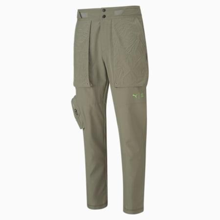 Pantalones de entrenamiento con corte estrecho PUMA x FIRST MILEpara hombre, Vetiver, pequeño