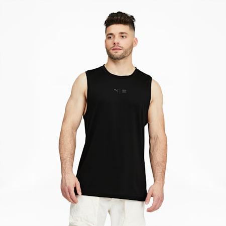 Camiseta de entrenamiento sin mangas PUMA x FIRST MILE para hombre, Puma Black, pequeño