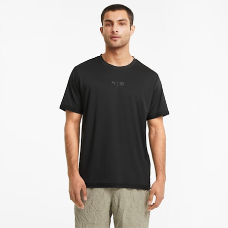 PUMA x FIRST MILE Short Sleeve Men's Training  Relaxed T-Shirt, Puma Black, small-IND