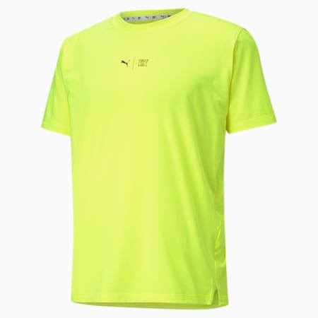 PUMA x FIRST MILE Short Sleeve Men's Training  Relaxed T-Shirt, Yellow Alert, small-IND