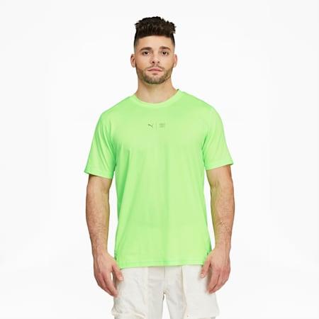 Camiseta de entrenamiento PUMA x FIRST MILE para hombre, Elektro Green, pequeño