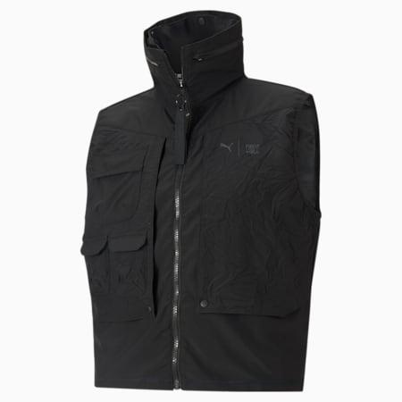 PUMA x FIRST MILE Utility Men's Training Vest, Puma Black, small-IND