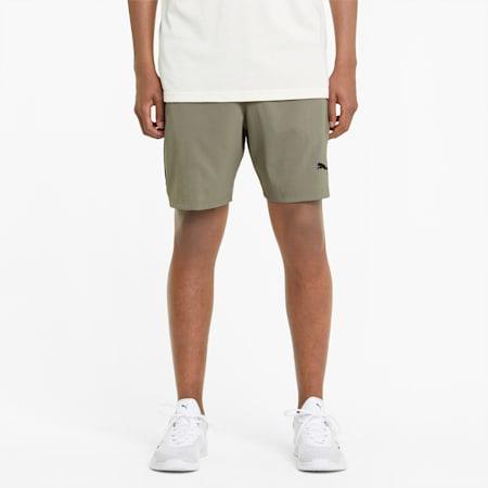 "Woven 7"" Men's Training Shorts, Vetiver, small-GBR"