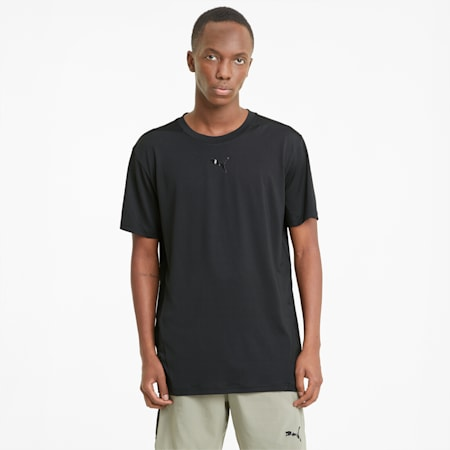 Vent Men's Training  Relaxed T-Shirt, Puma Black, small-IND