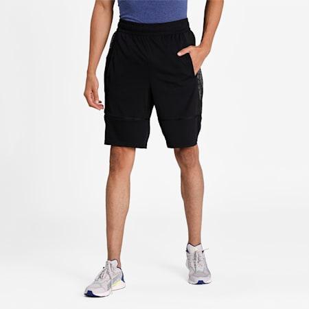 "Graphic Knit 9"" Men's Training Shorts, Puma Black, small-IND"