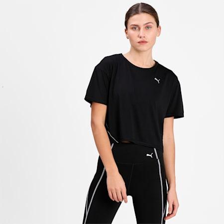COOLadapt Short Sleeve Women's Running  T-shirt, Puma Black, small-IND
