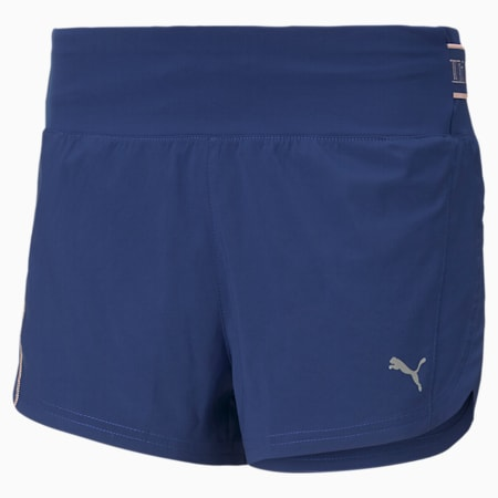 COOLadapt Women's Running Shorts, Elektro Blue, small