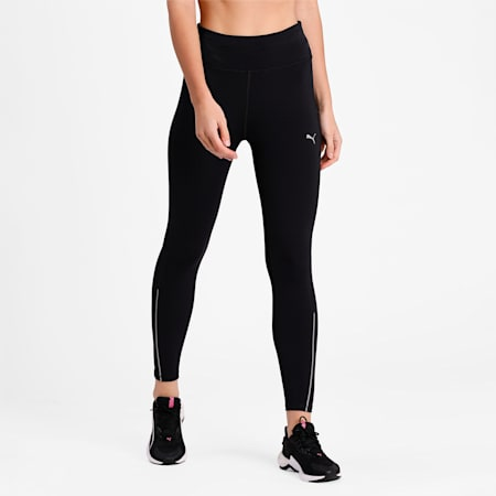 COOLadapt Long Women's Running Leggings, Puma Black, small-IND