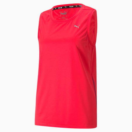 Favourite Women's Running Tank Top, Sunblaze-Persian Red, small-GBR
