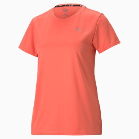 Favourite Short Sleeve Women's Running Tee, Georgia Peach, small-GBR
