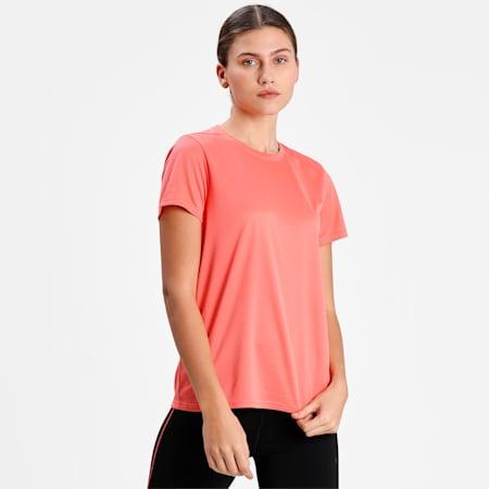 Favourite Short Sleeve Women's Running  T-shirt, Georgia Peach, small-IND