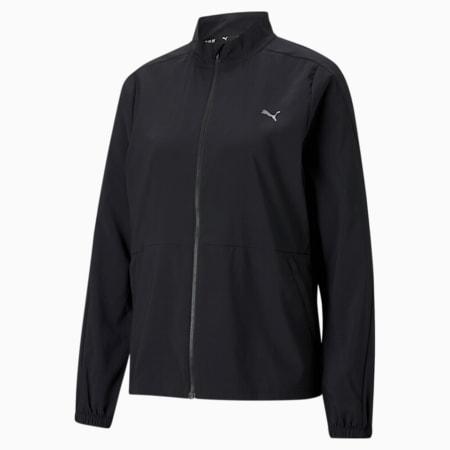Favourite Woven Women's Running Jacket, Puma Black, small