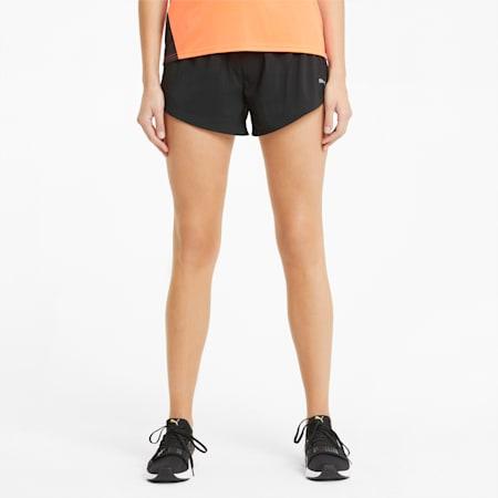 Favourite Gewebte Damen Laufshorts, Puma Black, small