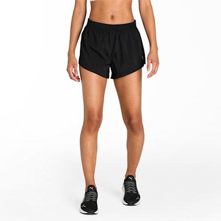 "Favourite Woven 3"" Women's Running Slim Shorts, Puma Black, small-IND"