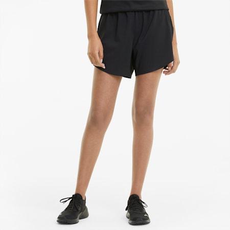 "Shorts da running Favourite 5"" intessuti da donna, Puma Black, small"