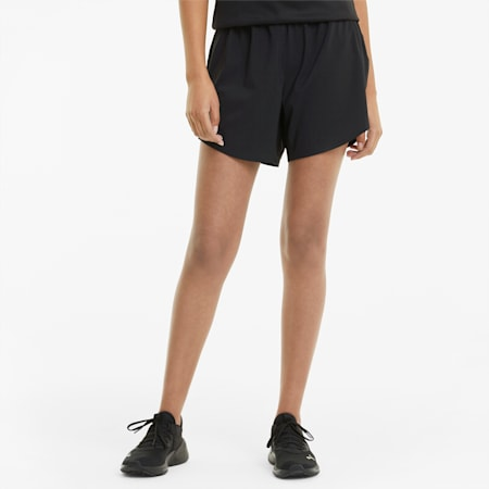 "Favourite Woven 5"" Women's Running Shorts, Puma Black, small-GBR"