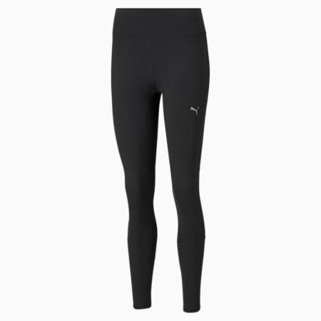 Favourite Women's Running Slim Tights, Puma Black, small-IND