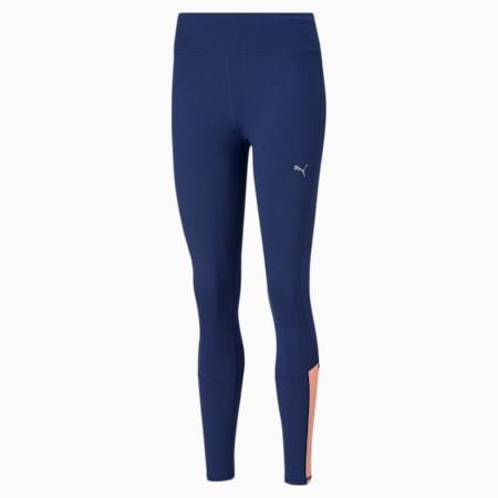 Favourite Women's Running Slim Tights, Elektro Blue, small-IND