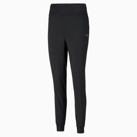 Damskie zwężane spodnie do biegania Favourite, Puma Black, small