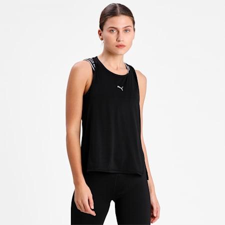 COOLadapt Women's Running Tank Top, Puma Black, small-IND