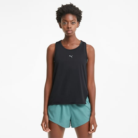 COOLadapt Women's Running Tank Top, Puma Black, small