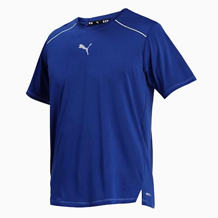 COOLadapt Short Sleeve Men's Running  T-shirt, Elektro Blue, small-IND