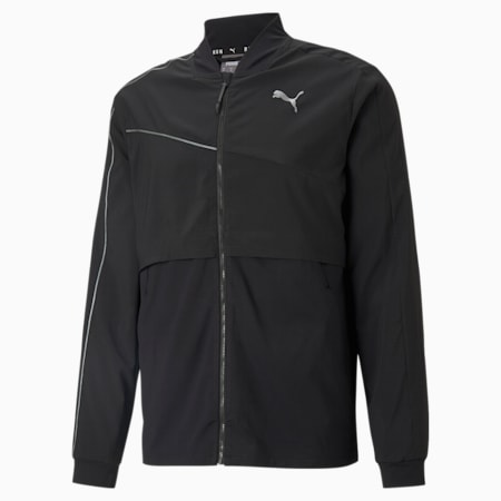 COOLadapt Ultra Men's Running Jacket, Puma Black, small