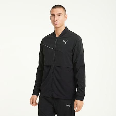 COOLadapt Ultra Men's Running Jacket, Puma Black, small-GBR