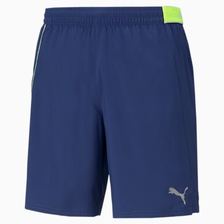 "Woven 7"" Men's Running Shorts, Elektro Blue, small-IND"