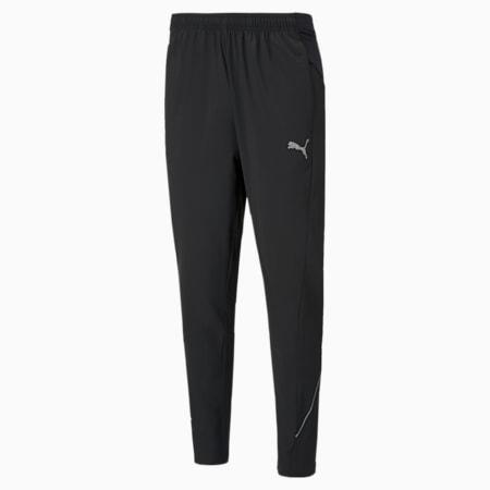 Pantalon de course tissé avec jambes fuselées homme, Puma Black, small