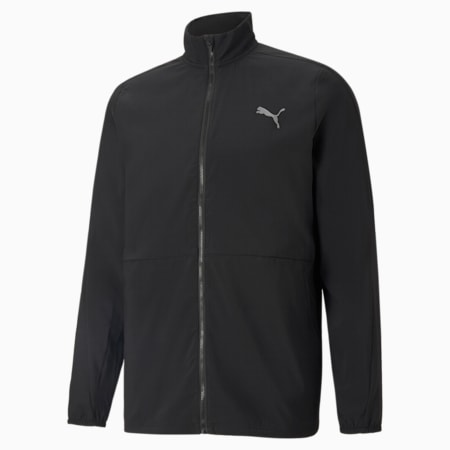 Favourite Woven Men's Running Jacket, Puma Black, small-SEA