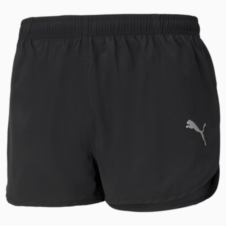 Favourite Split Men's Running Shorts, Puma Black, small-GBR