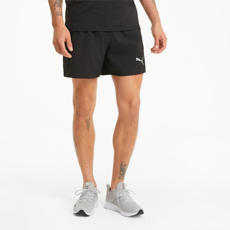 """Favourite Woven 5"""" Session Men's Running Shorts, Puma Black, small-GBR"""