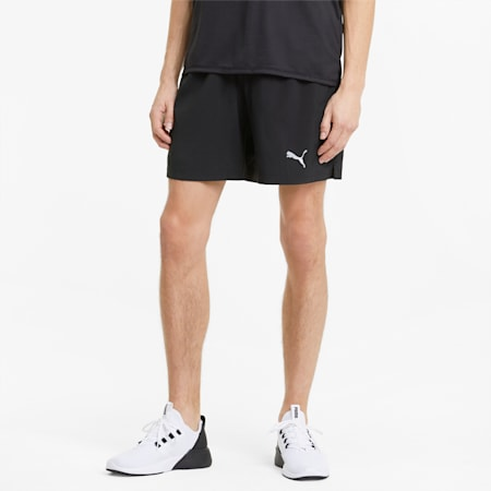 """Favourite Woven 7"""" Session Men's Running Shorts, Puma Black, small-GBR"""