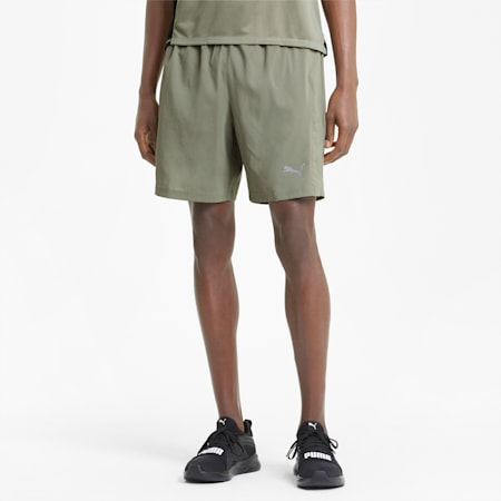 """Favourite Woven 7"""" Session Men's Running Shorts, Vetiver, small-GBR"""