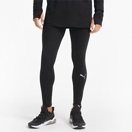 Pantaloni aderenti da running lunghi Favourite uomo, Puma Black, small
