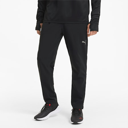 Favourite Tapered Men's Running Pants, Puma Black, small-SEA