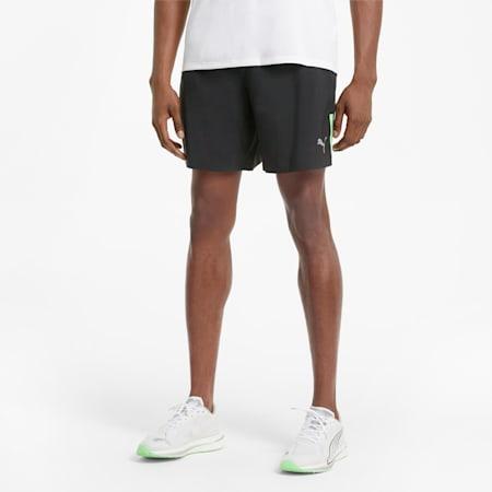 Short de course tissé 18cm homme, Puma Black, small