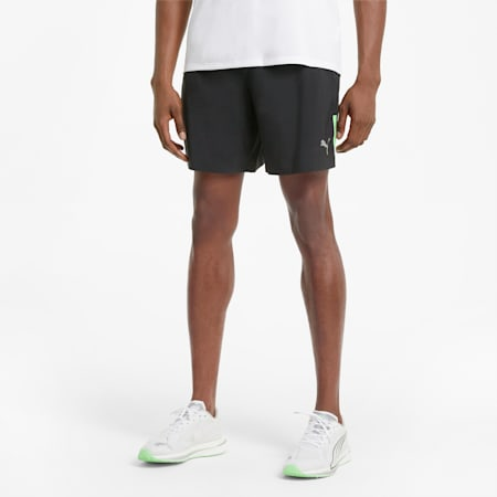 "Woven 7"" Men's Running Shorts, Puma Black, small"